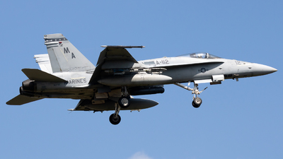 163735 - McDonnell Douglas F-18C Hornet - United States - US Marine Corps (USMC)