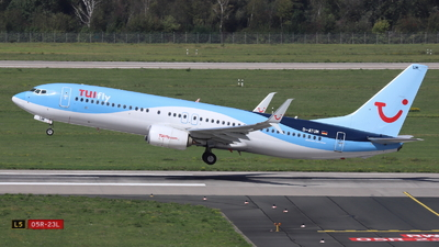 A picture of DATUM - Boeing 7378K5 - TUI fly - © Holger Eultgen
