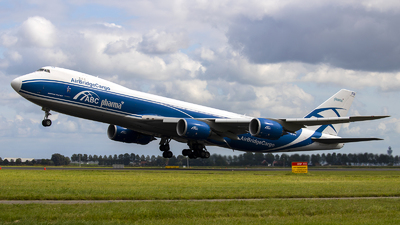 A picture of VQBFU - Boeing 74783Q(F) - AirBridgeCargo Airlines - © Marius Bilz