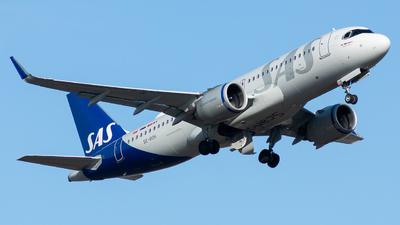 A picture of SEROH - Airbus A320251N - SAS - © William Skoglund