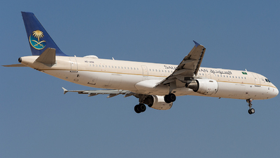A picture of HZASQ - Airbus A321211 - Saudia - © Basil Lutfi
