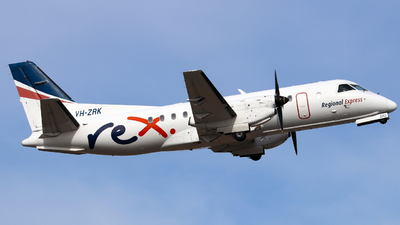 A picture of VHZRK - Saab 340B - Regional Express - © Robbie Mathieson