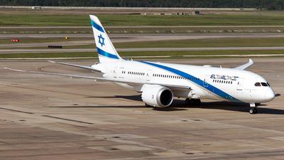 4X-ERC - Boeing 787-8 Dreamliner - El Al Israel Airlines