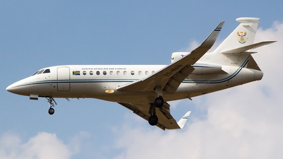 ZS-NAN - Dassault Falcon 900 - South Africa - Air Force