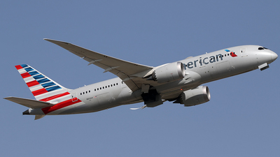 A picture of N814AA - Boeing 7878 Dreamliner - American Airlines - © Jorge Medina Mediavilla