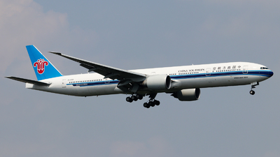 A picture of B2099 - Boeing 77731B(ER) - China Southern Airlines - © Jackson Zheng