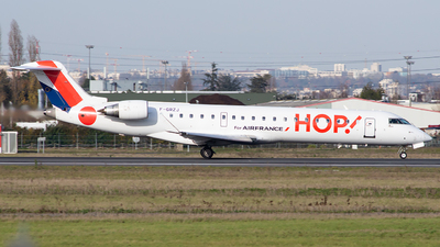 F-GRZJ - Bombardier CRJ-701 - HOP! for Air France
