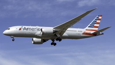 A picture of N816AA - Boeing 7878 Dreamliner - American Airlines - © Kerrigan_Aviation_NJ