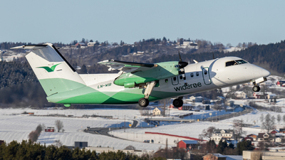 A picture of LNWIB - De Havilland Canada Dash 8100 - Wideroe - © einar_aviation