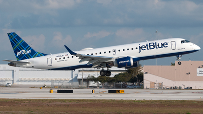 N316JB - Embraer 190-100IGW - jetBlue Airways