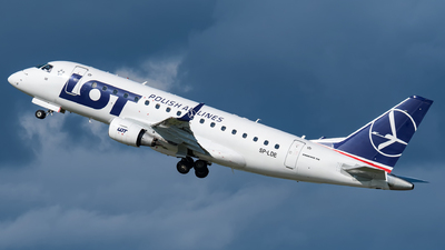 SP-LDE - Embraer 170-100LR - LOT Polish Airlines