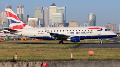 G-LCYI - Embraer 170-100STD - BA CityFlyer