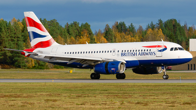 A picture of GEUPO - Airbus A319131 - British Airways - © Laszlo Fekete