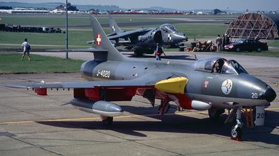 J-4020 - Hawker Hunter F.58 - Switzerland - Air Force