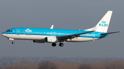 PH-BXE - Boeing 737-8K2 - KLM Royal Dutch Airlines