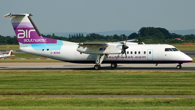 G-WOWA - Bombardier Dash 8-311 - Air Southwest
