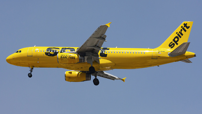 A picture of N616NK - Airbus A320232 - Spirit Airlines - © chalymtz