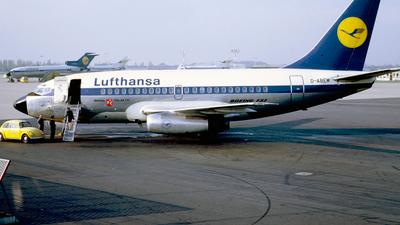 D-ABEM - Boeing 737-130 - Lufthansa