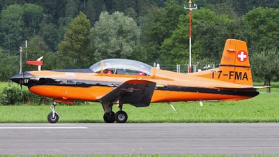 T7-FMA - Pilatus PC-7 - Fliegermuseum Altenrhein