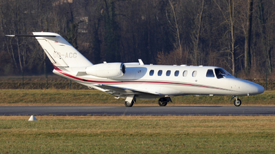 OO-ACC - Cessna 525A CitationJet 2 - Air Service Liège (ASL)