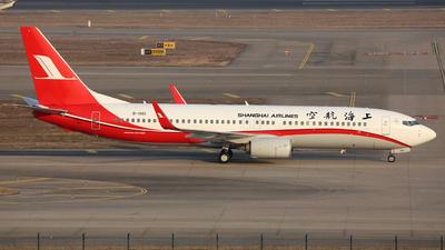 B-1901 - Boeing 737-86D - Shanghai Airlines
