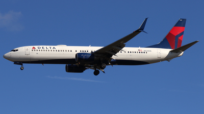 A picture of N838DN - Boeing 737932(ER) - Delta Air Lines - © James Bruno