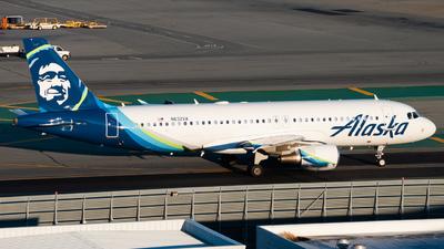 N632VA - Airbus A320-214 - Alaska Airlines