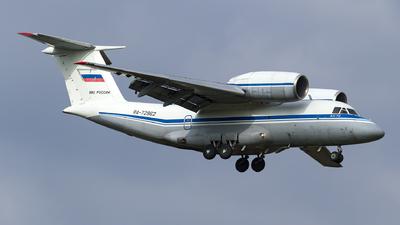 RA-72962 - Antonov An-72 - Russia - Air Force