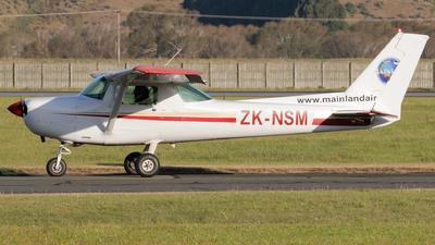ZK-NSM - Cessna 152 - Mainland Air