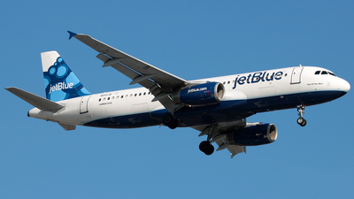 N510JB - Airbus A320-232 - jetBlue Airways