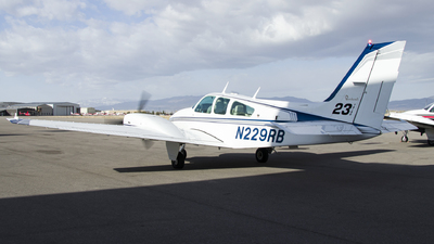 N229RB - Beechcraft 95 Travel Air - SUU Southern Utah University Aviation