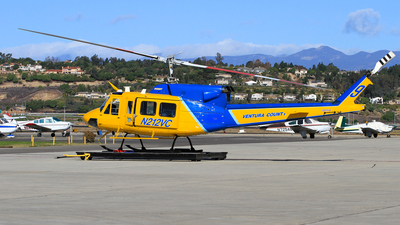 N212VC - Bell 212 - United States - Ventura County Sheriffs Department