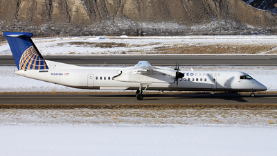 N346NG - Bombardier Dash 8-Q402 - United Express (Republic Airlines)