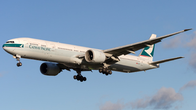 B-KPP - Boeing 777-367ER - Cathay Pacific Airways
