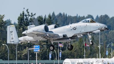 79-0210 - Fairchild A-10C Thunderbolt II - United States - US Air Force (USAF)