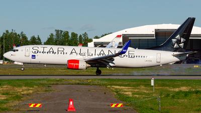 A picture of LNRRE - Boeing 73785P - SAS - © Laszlo Fekete