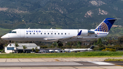 A picture of N466SW - Mitsubishi CRJ200ER - United Airlines - © Ricky Teteris