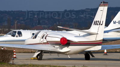 N82AJ - Cessna 501 Citation SP - Private