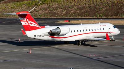 4L-TGB - Bombardier CRJ-200LR - Georgian Airways