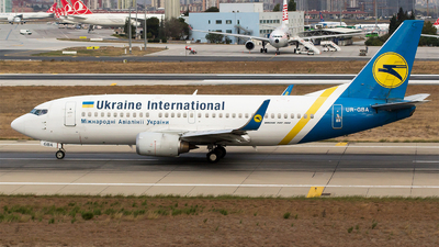 UR-GBA - Boeing 737-36N - Ukraine International Airlines