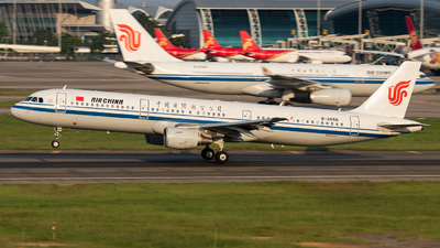A picture of B6556 - Airbus A321213 - Air China - © Jack  Li