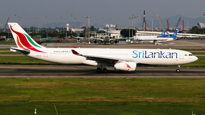 A picture of 4RALR - Airbus A330343 - SriLankan Airlines - © Jackson Zheng