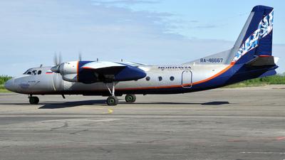 RA-46667 - Antonov An-24RV - Nordavia Regional Airlines