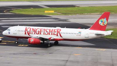 VT-KFK - Airbus A320-232 - Kingfisher Airlines