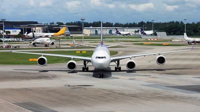 HS-TNA - Airbus A340-642 - Thai Airways International