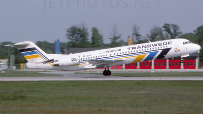 SE-DUG - Fokker 100 - Transwede Airways