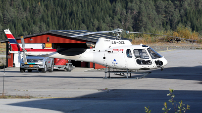 LN-OXL - Airbus Helicopters H125 - Airlift