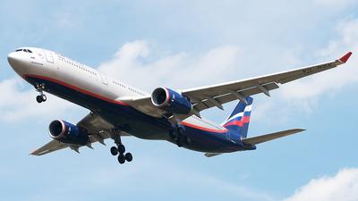 A picture of VQBQX - Airbus A330343 - Aeroflot - © Alexey Prokhorov