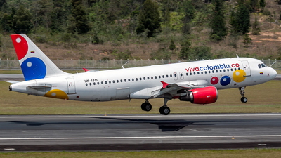 HK-4811 - Airbus A320-214 - VivaColombia