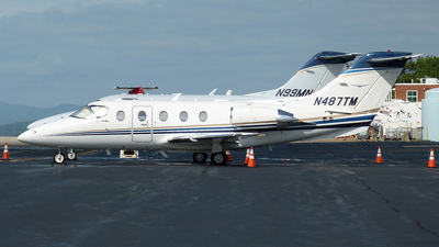 N487TM - Beechcraft 400A Beechjet - Flight Options